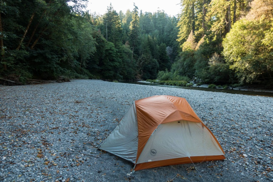 Redwood: Camping Spot by Redwood Creek