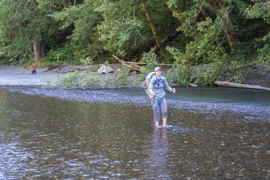 Redwood: Kristin Crossing Redwood Creek