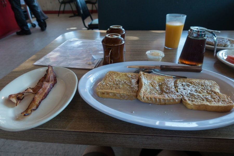 Redwood: French Toast at Hiouchi Cafe