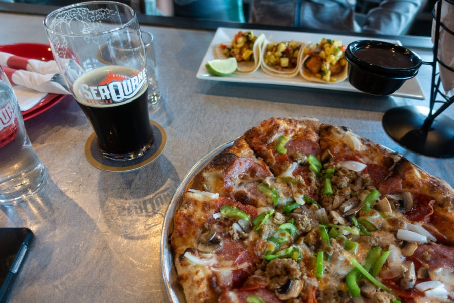 Redwood: Seaquake Pizza, Tacos and Beer in Crescent City