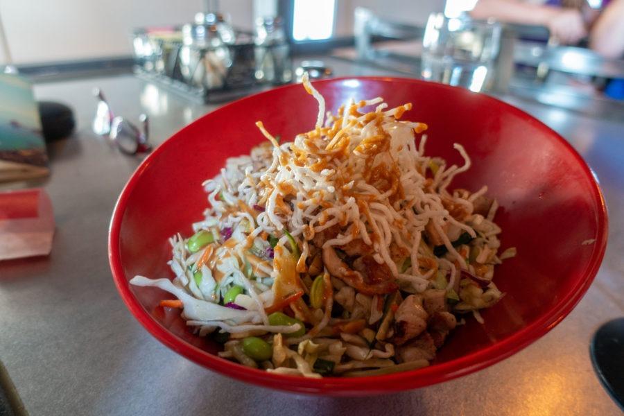 Redwood: Thai Chicken Salad at Seaquake Brewing