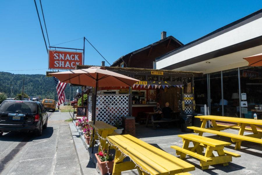 Redwood: Snack Shack in Orick
