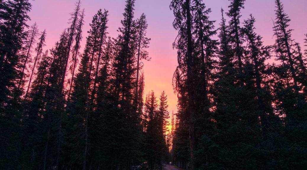 Crater Lake: Another Beautiful Sky at Mazama Campground