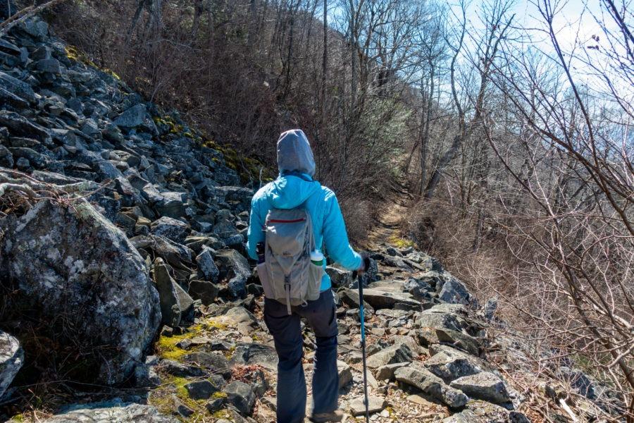 Shenandoah: Boulders on Passamaquoddy Trail
