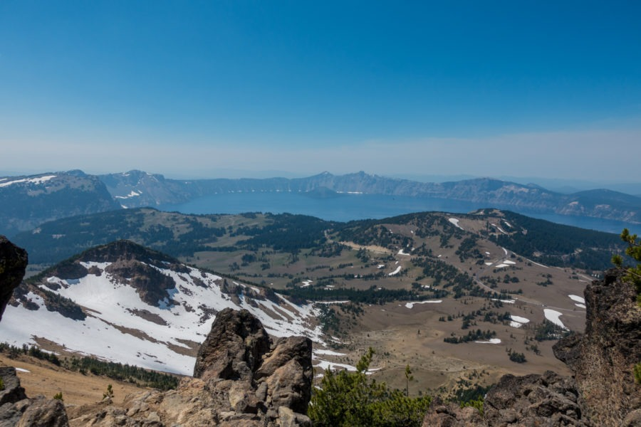 Crater Lake: View of Crater Lake