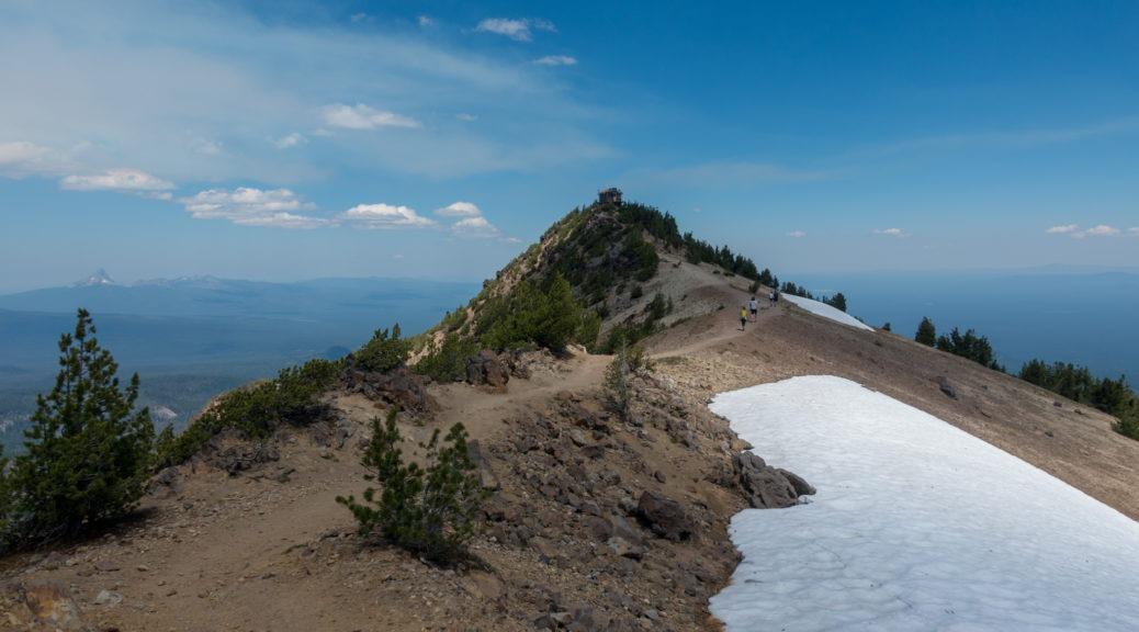 Crater Lake: Mount Scott Ridge Line to Fire Tower
