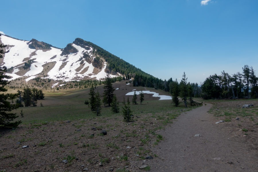 Crater Lake: Beginning of Mount Scott Trail