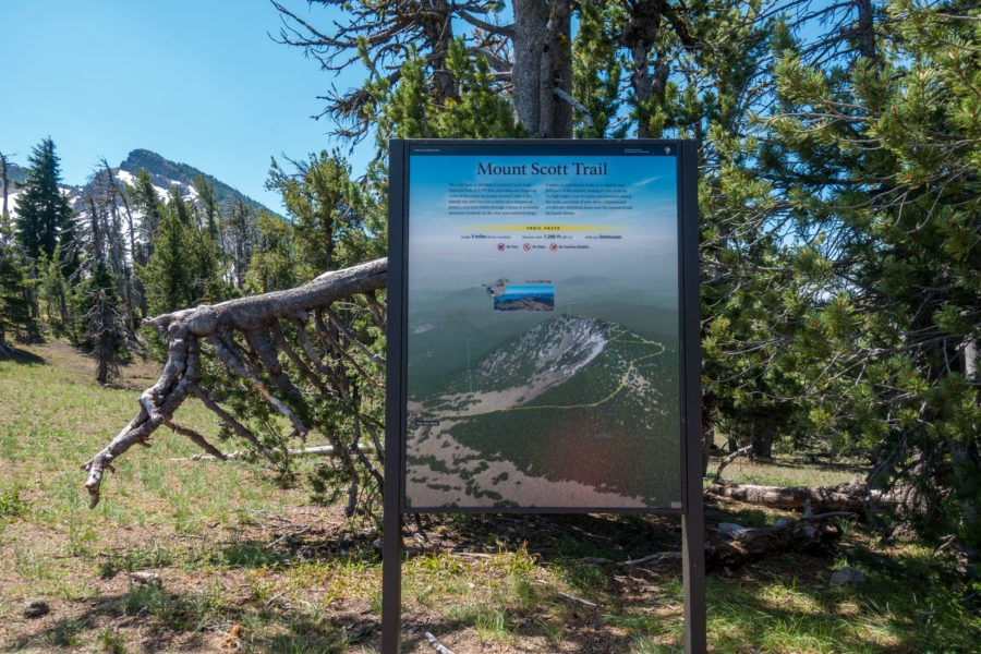 Crater Lake: Mount Scott Trailhead