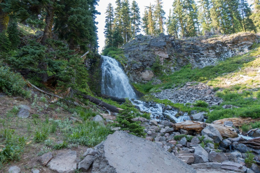 Crater Lake: View of Plaikni Falls From End of Accessible Trail