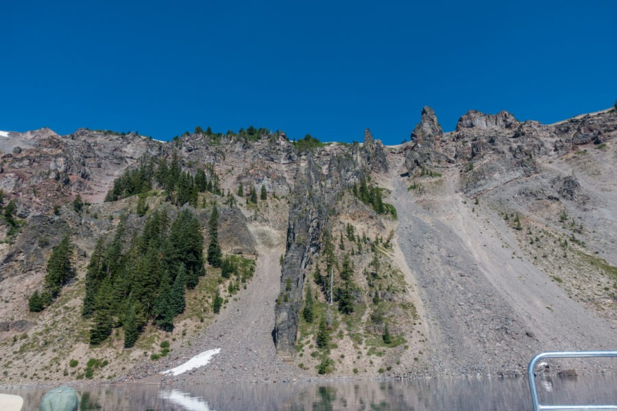 Crater Lake: Devil's Backbone