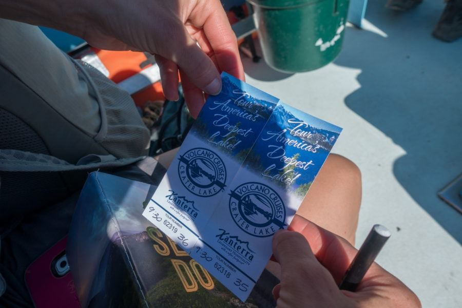 Crater Lake: Boat Tour Tickets