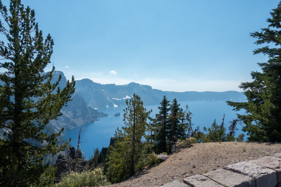 Crater Lake: Phantom Ship Overlook