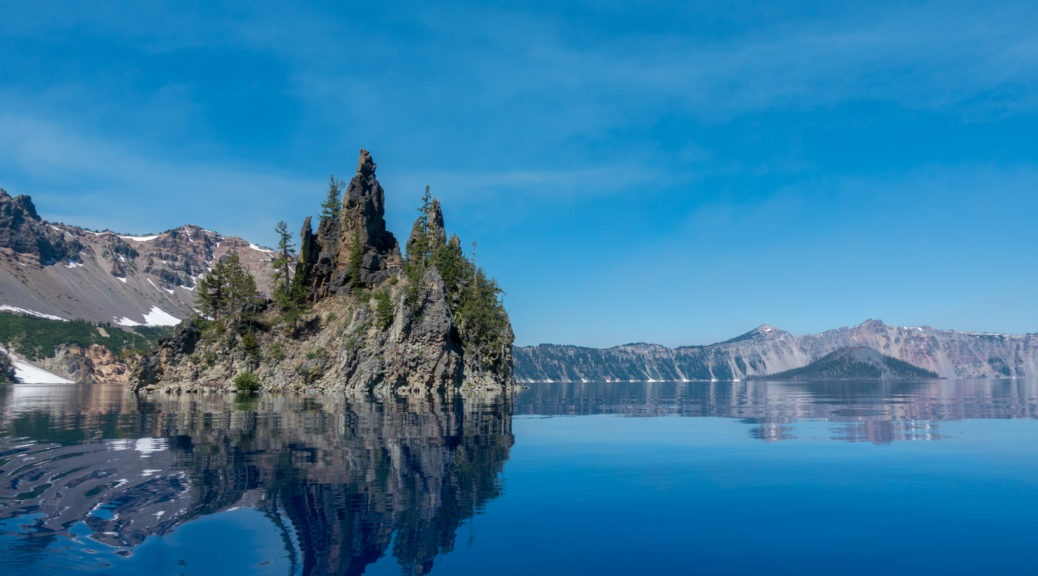 Crater Lake: Phantom Ship with Wizard Island