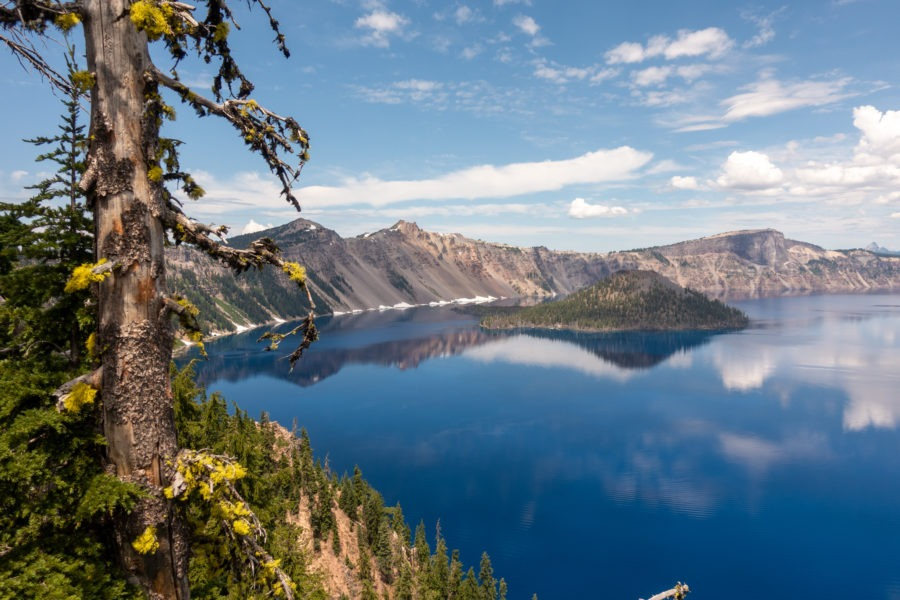 Crater Lake: View From Sinnott Overlook
