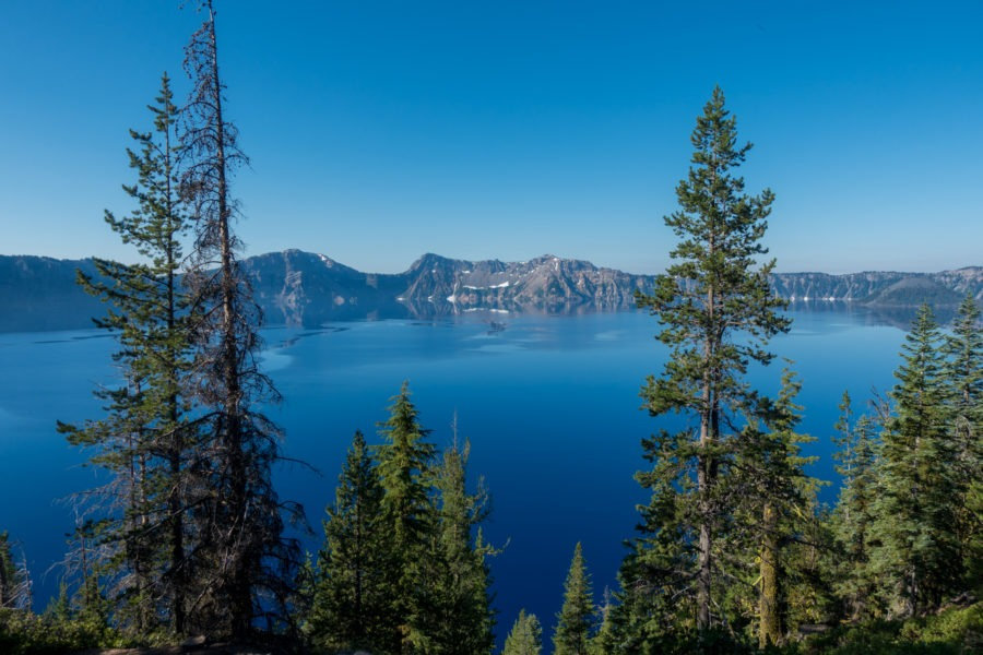 Crater Lake: View of Lake from Cleetwood Cove Trail