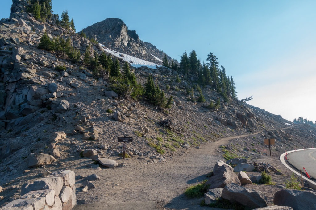 Crater Lake: Watchman Peak