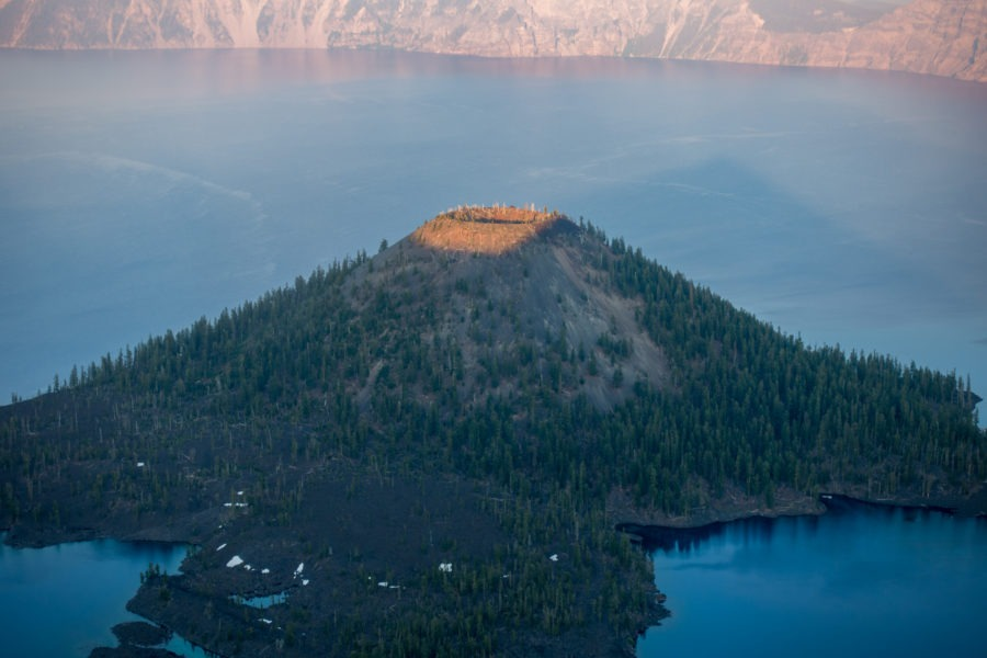 Crater Lake: Wizard Island From Watchman Peak
