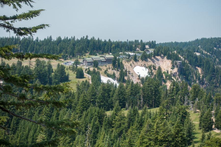 Crater Lake: Lodge from Garfield Peak Trail