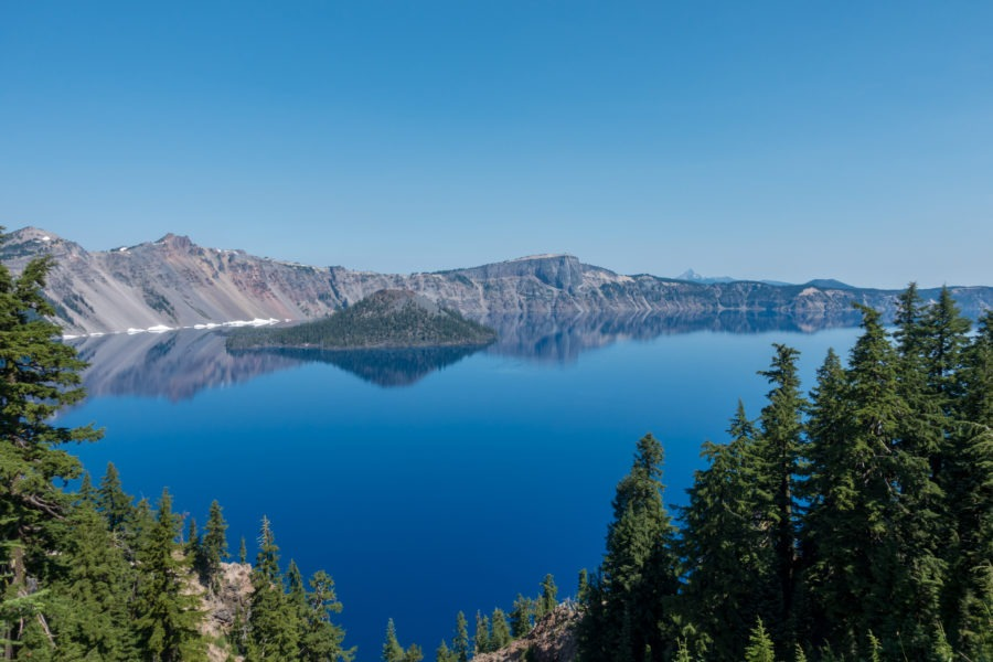 Crater Lake: View from Rim Near Lodge