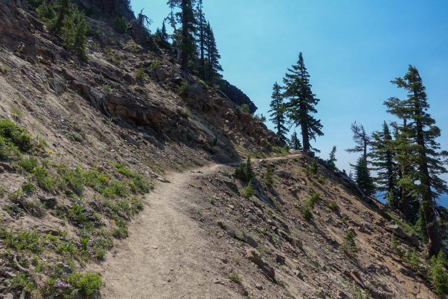 Crater Lake: Ascending Garfield Peak Trail