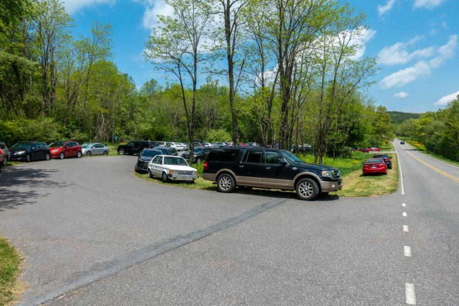 Shenandoah: Milam Gap Parking Lot