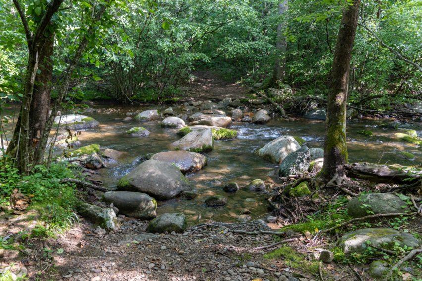 Shenandoah: Hughes River Crossing on Nicholson Hollow Trail