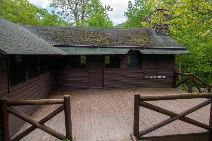 Shenandoah: Brown House at Rapidan Camp