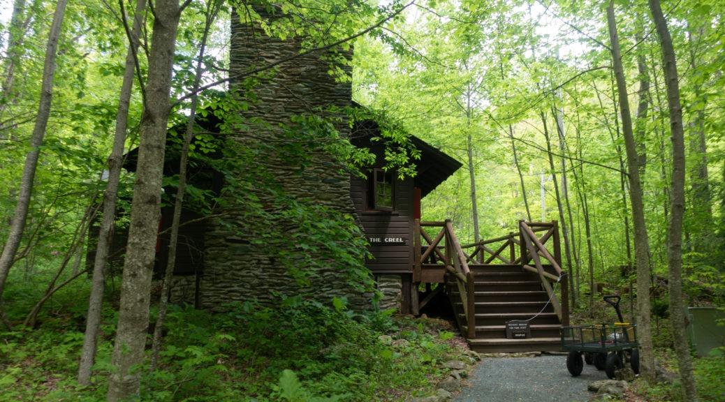 Shenandoah: The Creel at Rapidan Camp