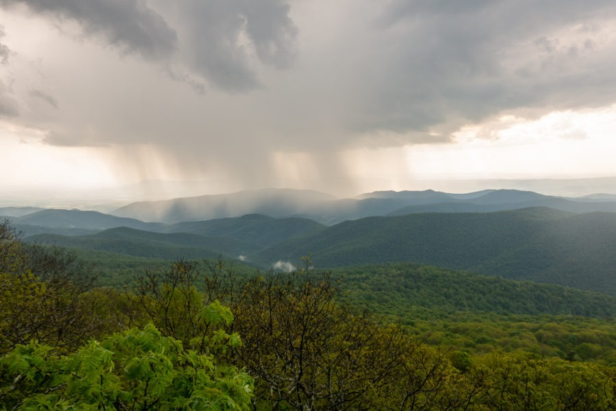 Shenandoah: Our View Out From Hazeltop