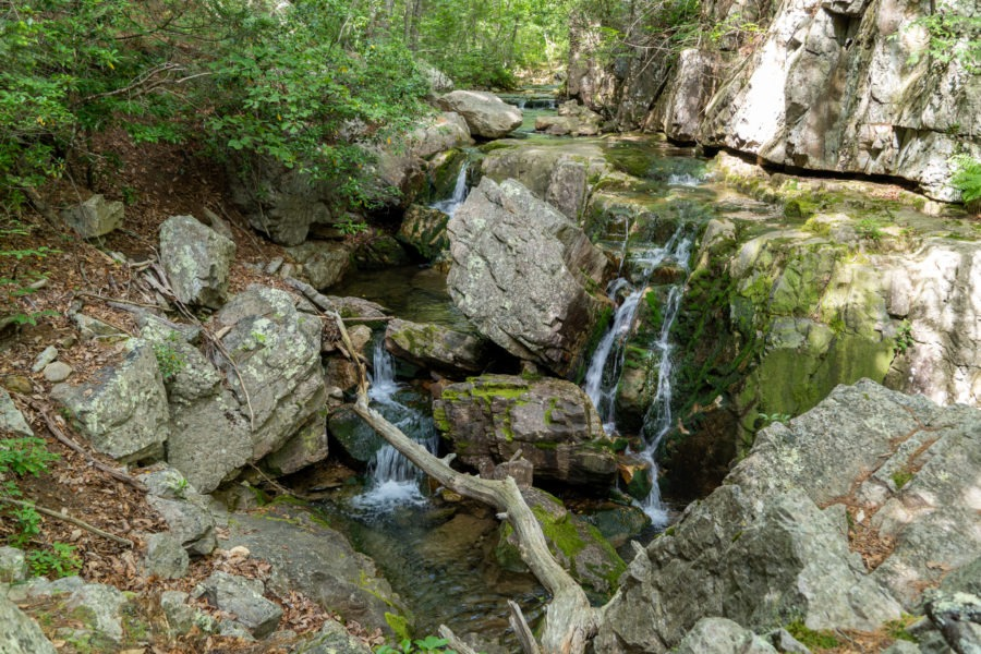 Shenandoah: Small Waterfalls on Meadow Run