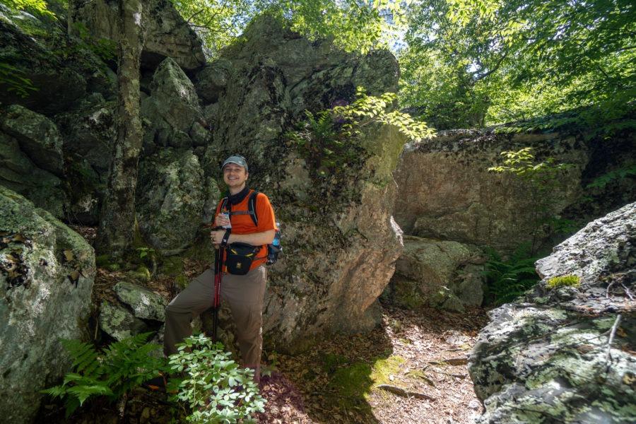 Shenandoah: Calvary Rocks Formation on Riprap Trail