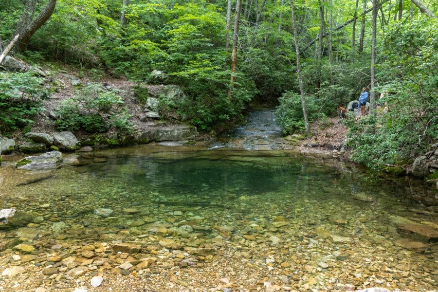 Shenandoah: Swimming Hole on Meadow Run off Riprap Trail