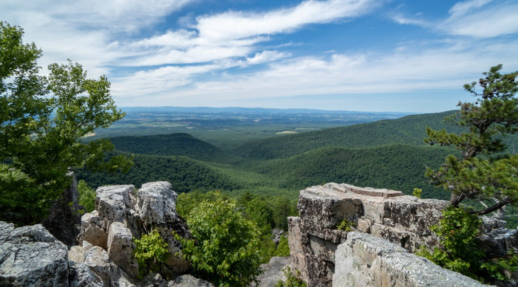 Shenandoah: Chimney Rock View on Riprap Trail