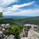 Shenandoah: Chimney Rock View on Riprap Trail