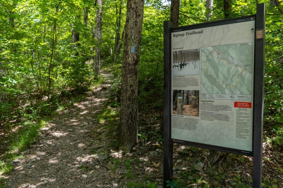 Shenandoah: Riprap Trailhead