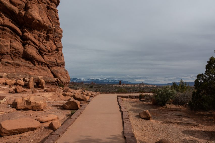 Arches: View from Balanced Rock Trail