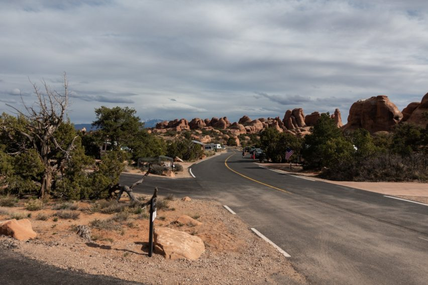 Arches: View of Campground Near Site 32