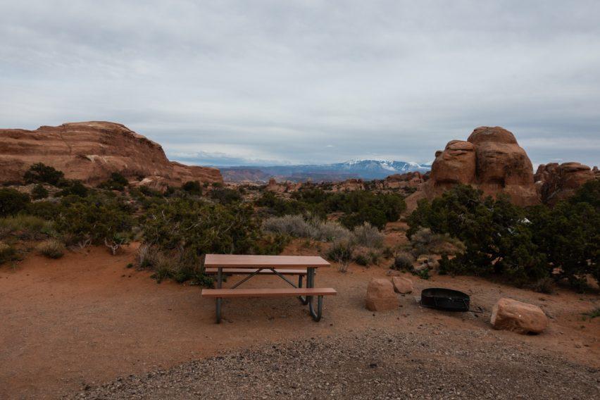 Arches: Site 24 at Devils Garden Campground