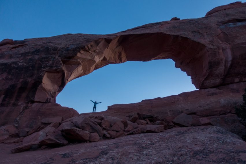 Arches: In Skyline Arch