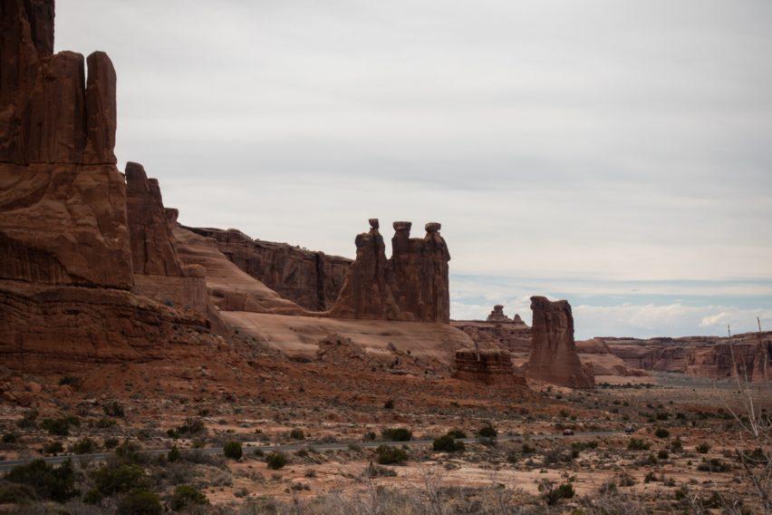 Arches: Three Gossips Rock Formation
