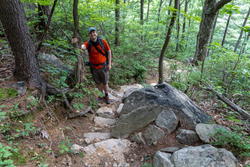 Shenandoah: Heading Down Cave/Falls Spur Trail