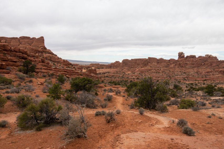 Arches: Tower Arch Trail Through Valley