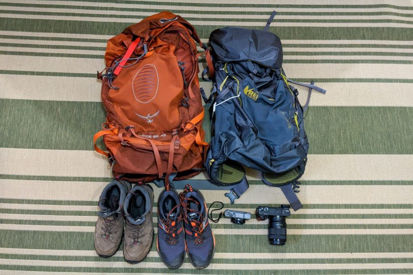 Shenandoah: Gear Tested While Backpacking White Rocks