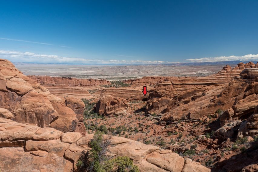 Arches: View From Black Arch Overlook