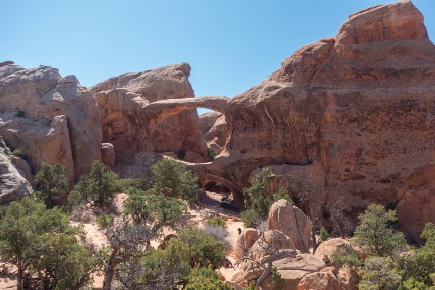 Arches: Double O Arch in Devils Garden
