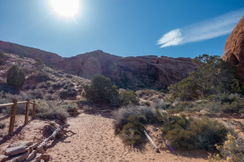 Arches: Landscape Arch in the Afternoon
