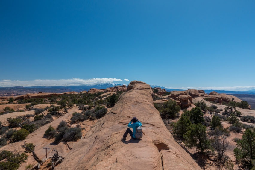 Arches: Walking On the Fin to Double O Arch