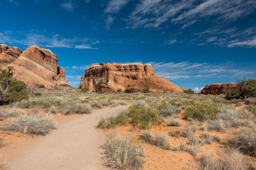 Arches: Devils Garden Trail Start