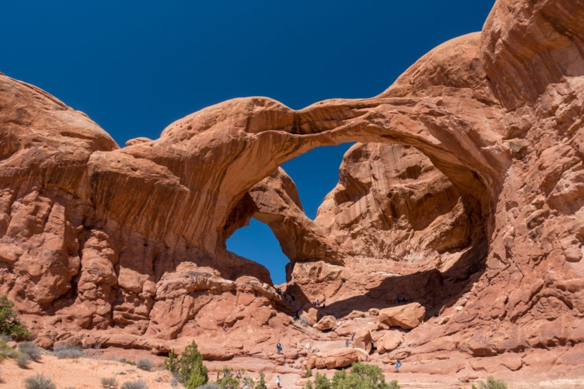 Arches: Double Arch