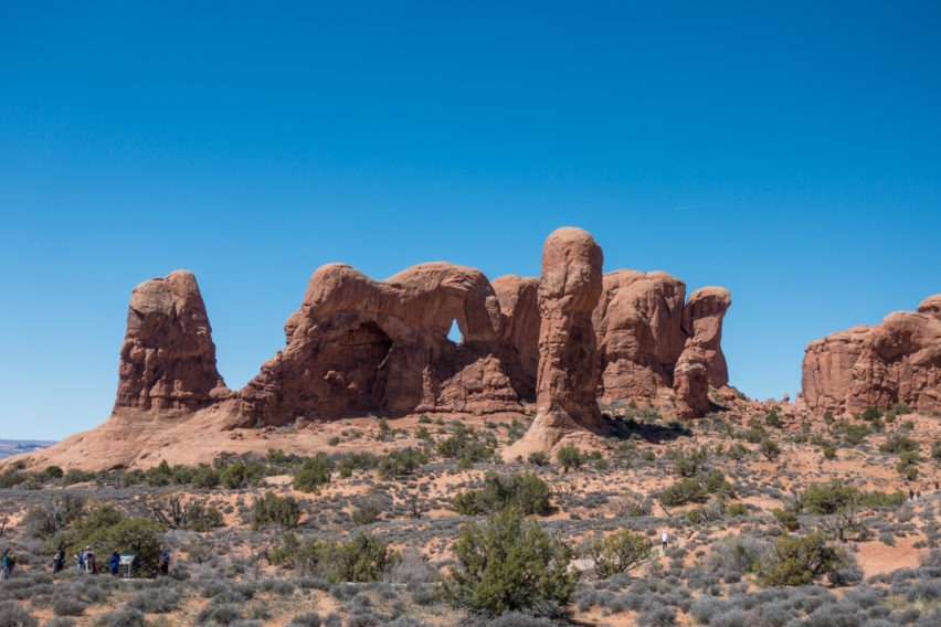 Arches: Parade of Elephants in Windows Area